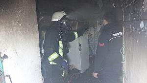 Karaman da 3 Kişinin Yaşadığı ev yandı
