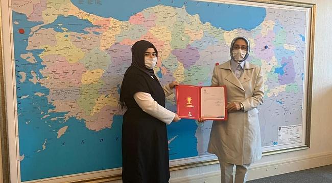 AK Parti kadın kolları başkanlığına atandı