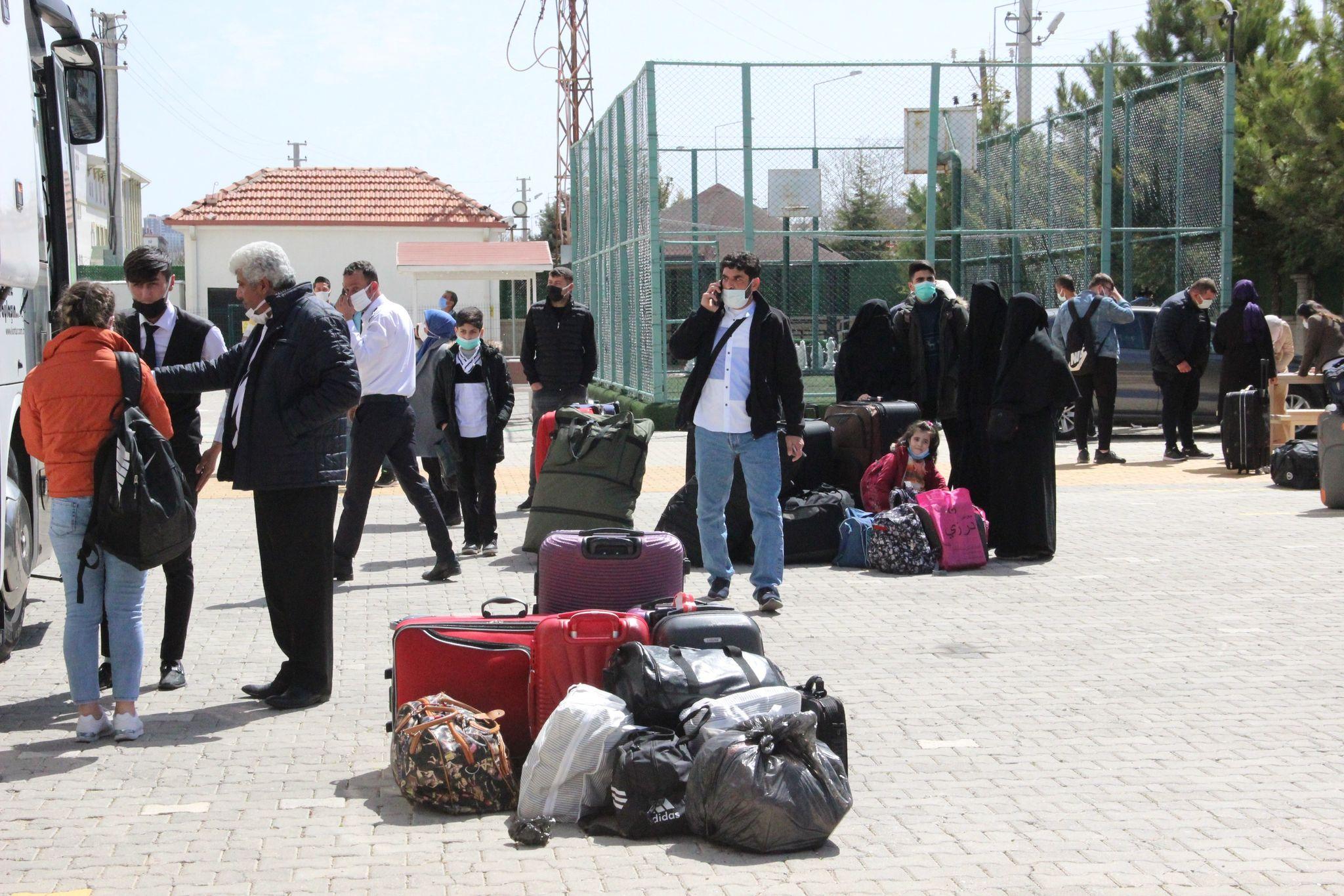 Testi pozitif yolcunun bulunduğu otobüsteki 47 kişi karantinaya alındı