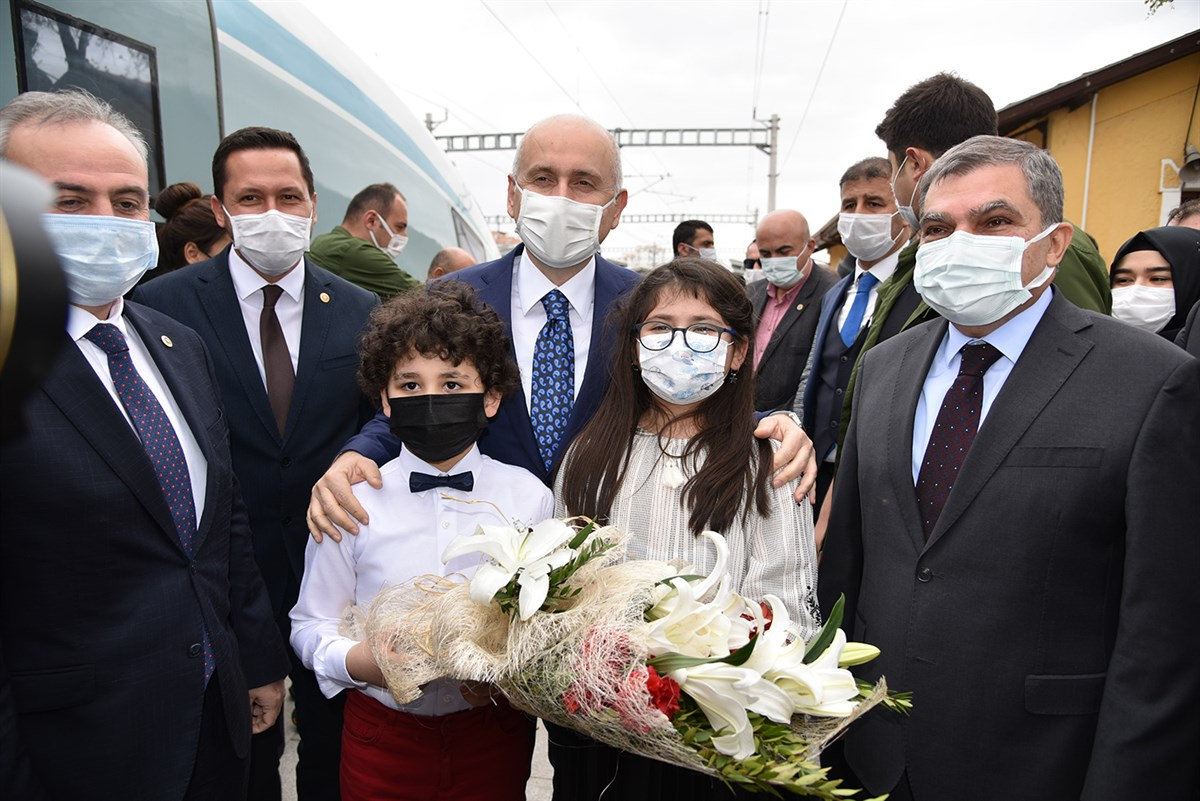 Haziran Ayında Karaman'da YHT İle Yolcu Seferleri Başlayacak
