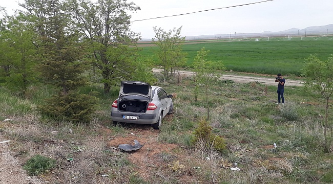 Karaman - Konya Yolunda Kaza 1 yaralı