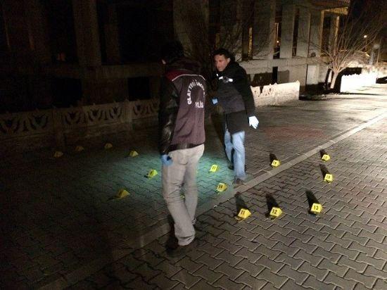 Karaman'da Gece saatlerinde Magandalar havaya ateş etti