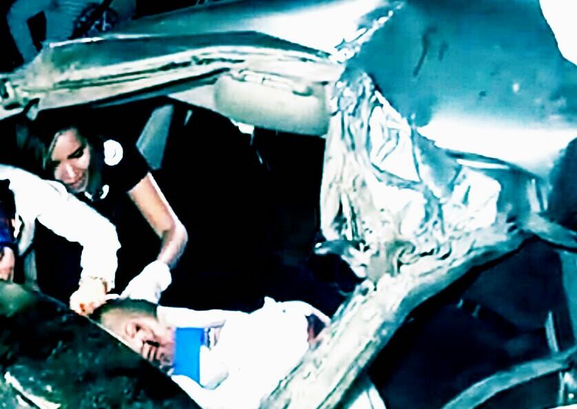 Karamanda Trafik Kazası Biri ağır 4 Yaralı